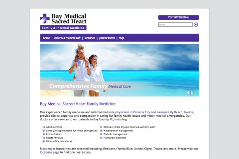Bay Medical Sacred Heart Family Medicine
