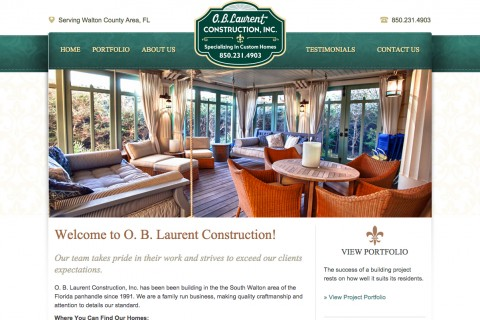 O. B. Laurent Construction, Inc.